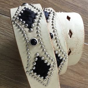 Accessories - Leather NEW studded belt!